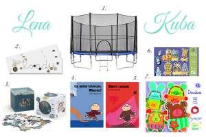 Lena i Kuba, blog rodzinny, blog dziecięcy, moda dziecięca, fotografia dziecięca - Prezenty na Dzień Dziecka – nasze wybory